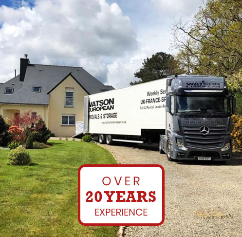 At Watson European removals is our speciality, we have been arranging removals for customers for over 20 years. You can rest assured that we will handle all aspects of your move making it as stress-free as possible. If you don't have time to handle the packing of your items, why not take advantage of our packing service, or alternatively, if you're not looking to move all of your possessions, we have a secure storage facility that can be used for both short-term and long-term needs. As we are committed to making your move as stress and hassle-free as possible, we offer a range of services to make your move more efficient, including full house removals, or if you're looking to move fewer items you can take advantage of our part removals service